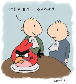 Gamey