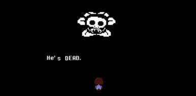 Flowey - He's Dead